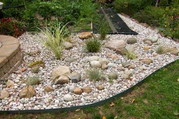 100 unglaubliche bilder: moderner steingarten! - archzine, Terrassen deko