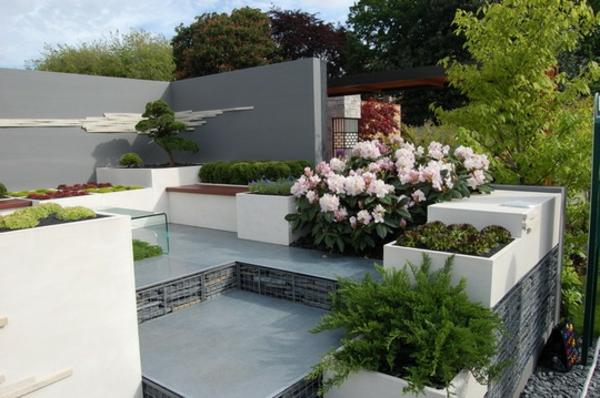 100 Unglaubliche Bilder: Moderner Steingarten! | Dekoration ...