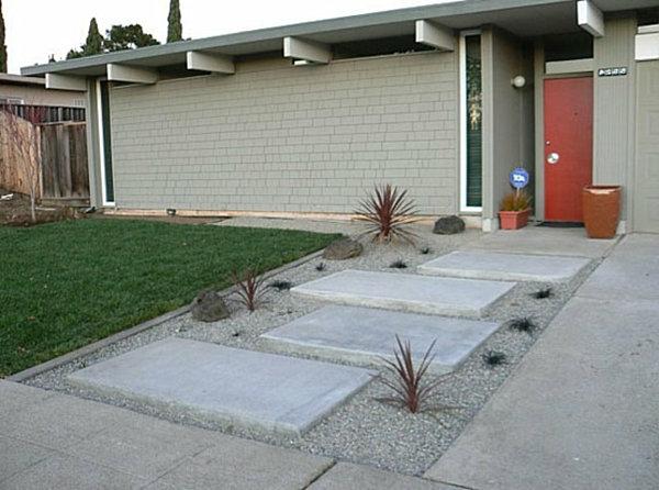 moderner-steingarten-weiße-getsaltung