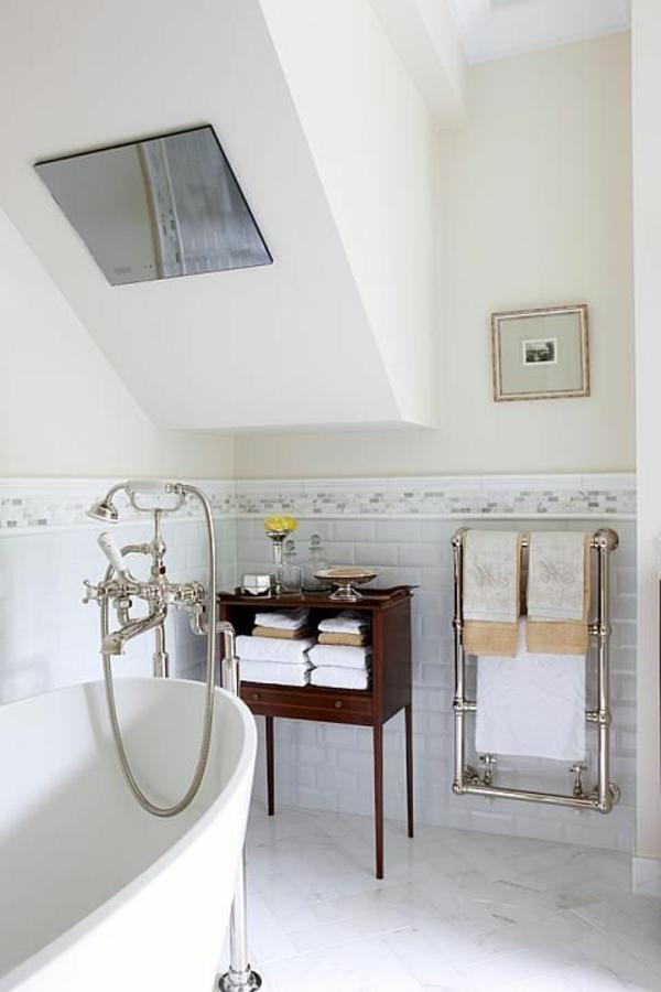 modernes-Badezimmer--Gestaltung-Heizung-Handtuchhalter