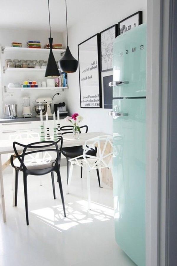 modernes-Design-für- Esszimmerstühle-in-Schwarz-und-Weiß Esszimmerstühle Design