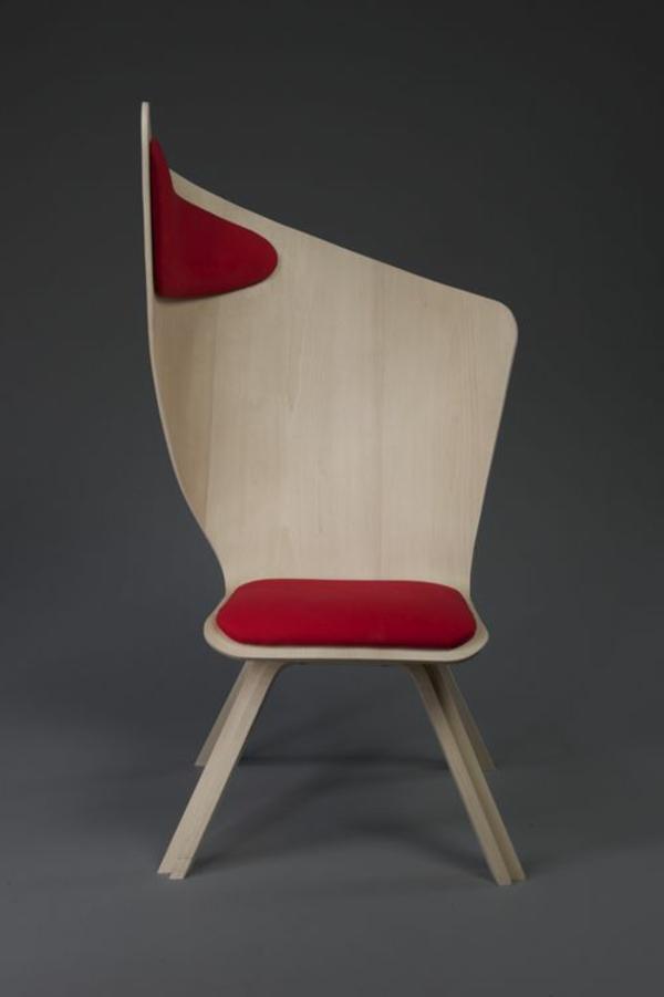 -modernes-Design-für-einen- designer-Stuhl-aus-Holz-