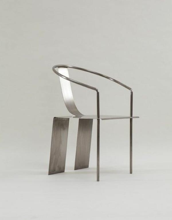 modernes-Design-für-einen- designer-Stuhl-aus-Metall-