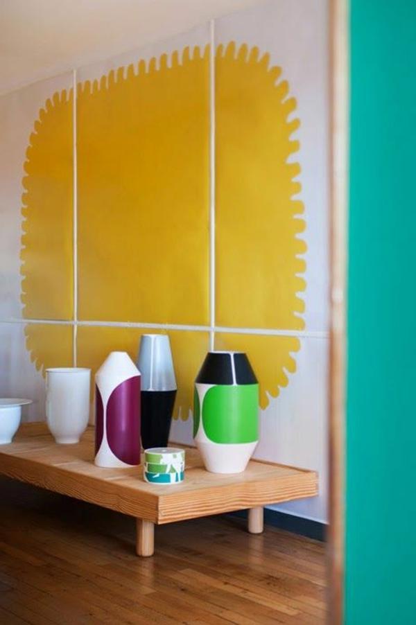 modernes-Interior-Design-kreative-Wandgestaltung-im-Badezimmer