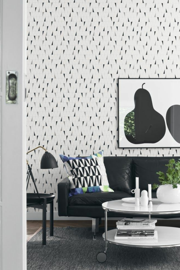 modernes-Interior-Design-kreative-Wandgestaltung-originelle-Tapete