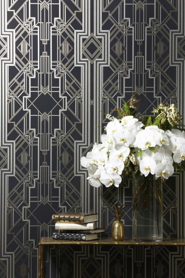 modernes-Interior-Design-kreative-Wandgestaltung-schöne-Tapete