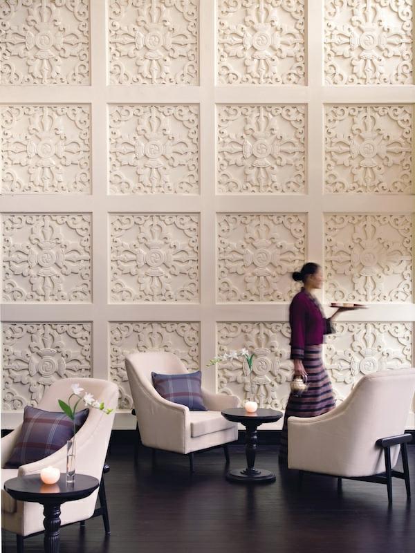 Modernes Interior Design Kreative Wandgestaltung