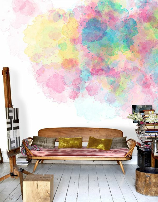 modernes-Interior-Design-wunderbare-Wandgestaltung-fantastische-Farben