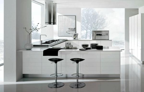 Fantastisch 90 Neue Küchenideen: Weiß Und Schwarz | Küche ...
