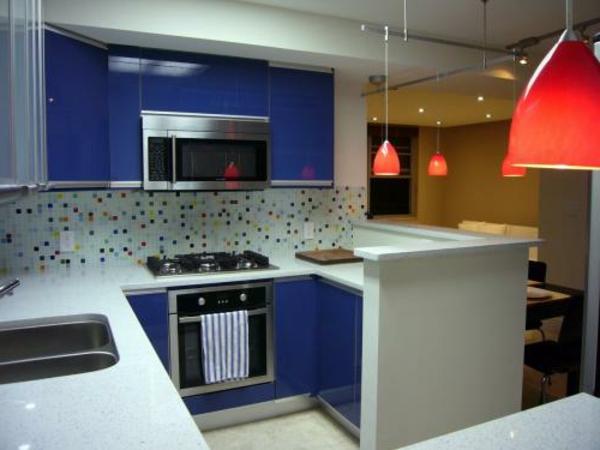 Neue Küchenideen Blau Und Weiß