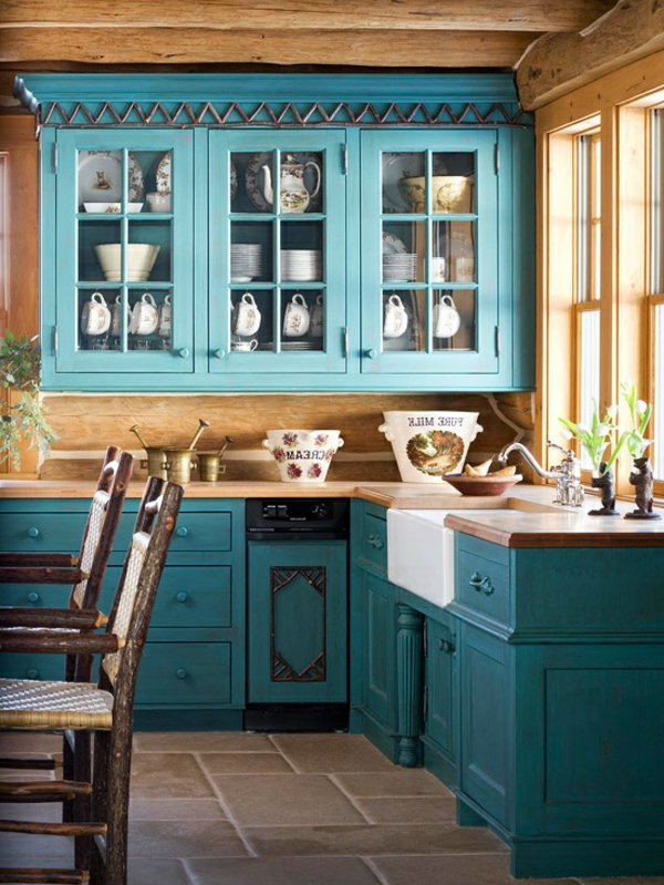 k che landhausstil gr n neuesten design kollektionen f r die familien. Black Bedroom Furniture Sets. Home Design Ideas