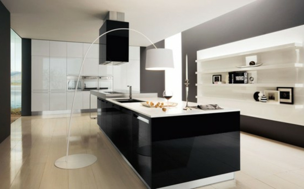 90 neue küchenideen weiß und schwarz  archzine