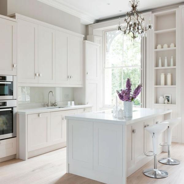 90 neue küchenideen: weiß und schwarz - archzine, Hause ideen