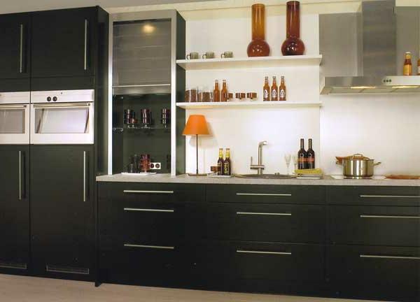 Neue küchenideen moderne schwarze küche