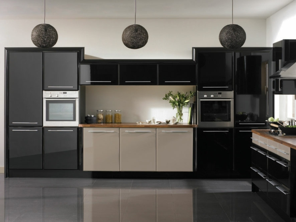 Neue küchenideen schwarz und cool aussehen