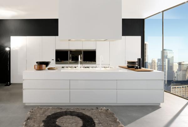 90 neue Küchenideen: Weiß und Schwarz
