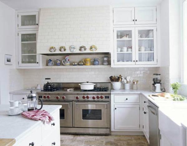 90 neue Küchenideen: Weiß und Schwarz - Archzine.net