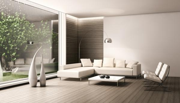 Moderne wandfarben 40 trendige beispiele - Wohnzimmer farbgestaltung ...