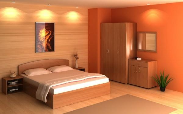 schlafzimmer orange – usblife, Schlafzimmer ideen