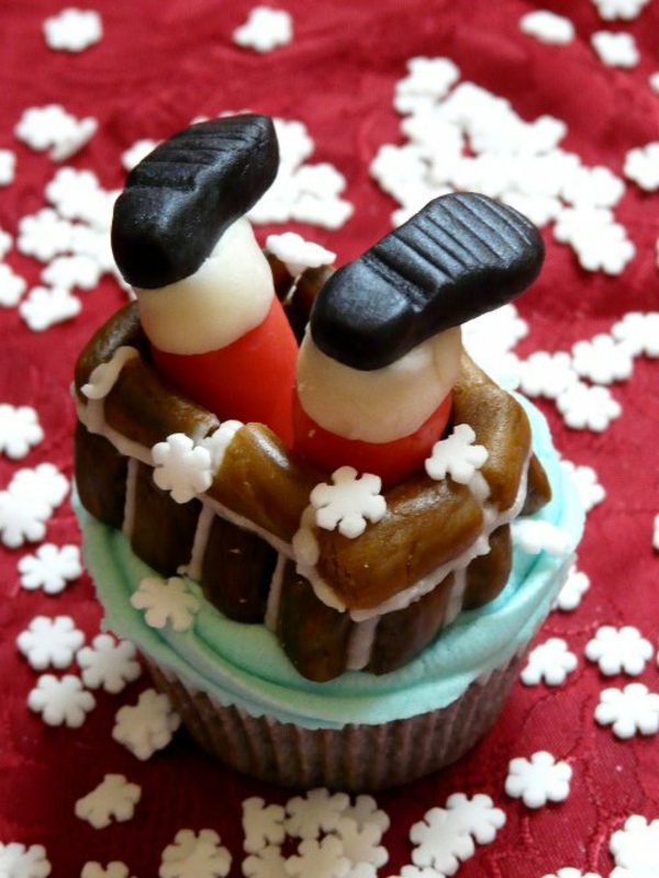 originelle-Cupcakes-Rezepten-für-Weihnachten