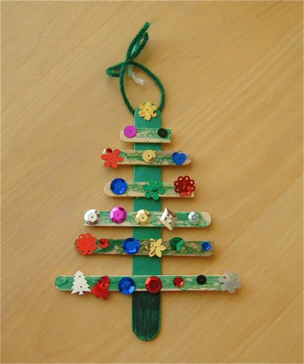 Christmas Crafts Kindergarten Easy