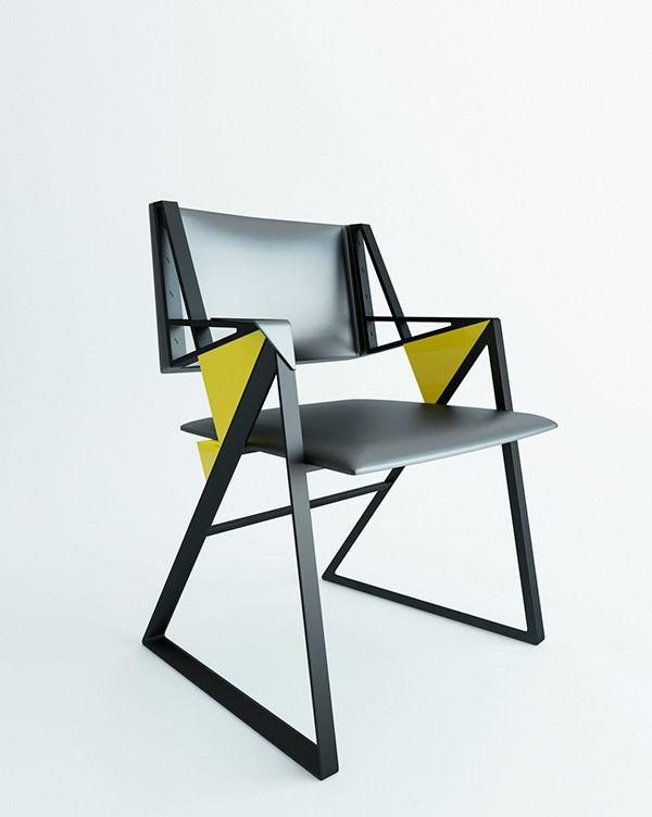 origineller-designer-Stuhl-mit-fantastischem-Design-