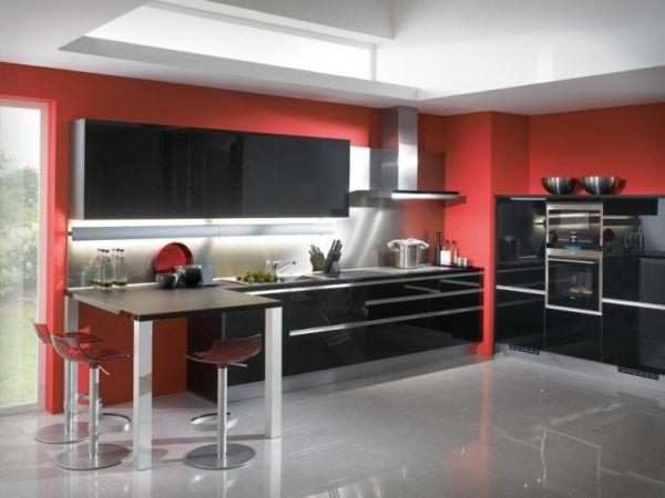 Kuchen Wandfarbe Rot Welche Wandfarbe Fur Kuche Gute Ideen Und