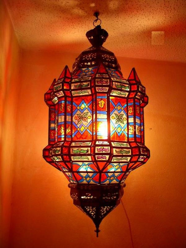 rote-marokkanische-lampen