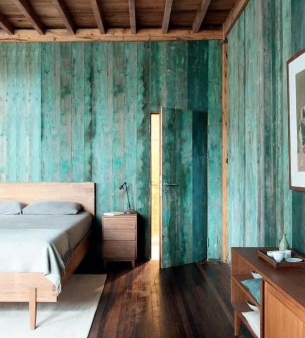 Sonderbar Schlafzimmer Rustikal Modern Plan