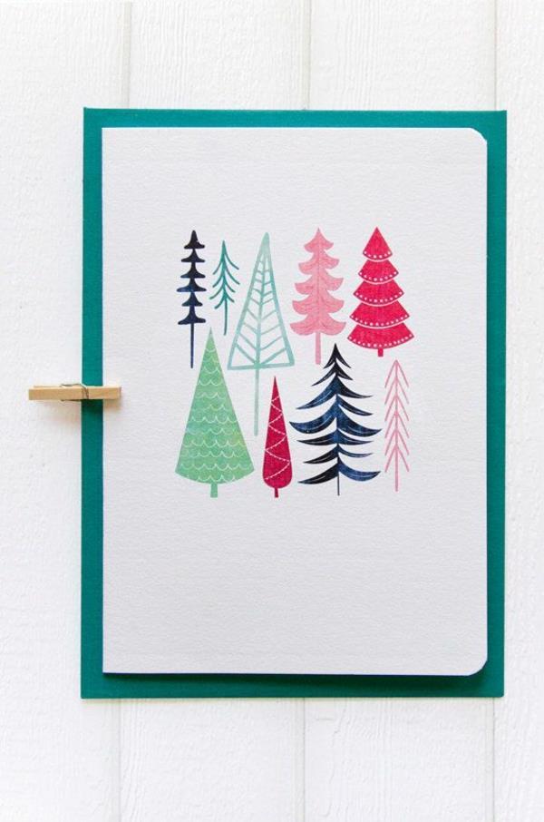 süße-Fantastische--Ideen-für-Gestaltung-von- Weihnachtskarten