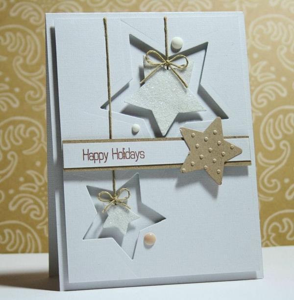 schöne-Weihnachtskarte-selber-basteln--