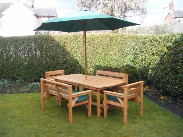 Ueberdachte Terrasse Aus Holz Im : Gartenbank mit tisch super bilder