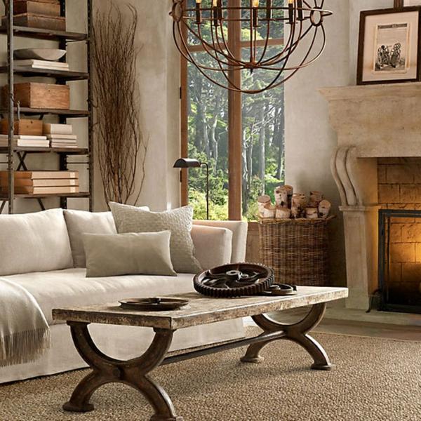 schönes-interieur-wohnzimmer-rustikal-gestalten
