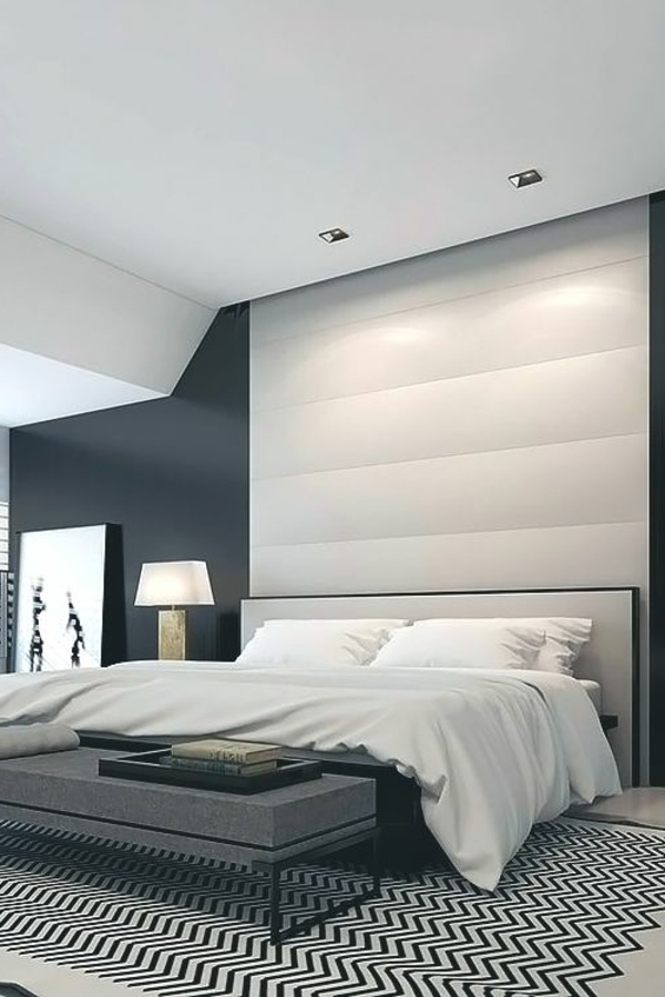 schlafzimmer modern wei grau. Black Bedroom Furniture Sets. Home Design Ideas