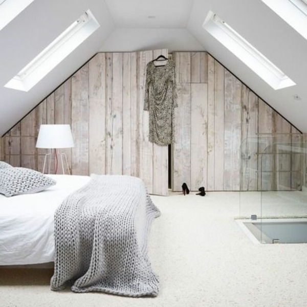 schlafzimmer modern gestalten in einer schner dachwohnung - Schlafzimmer Modern Gestalten