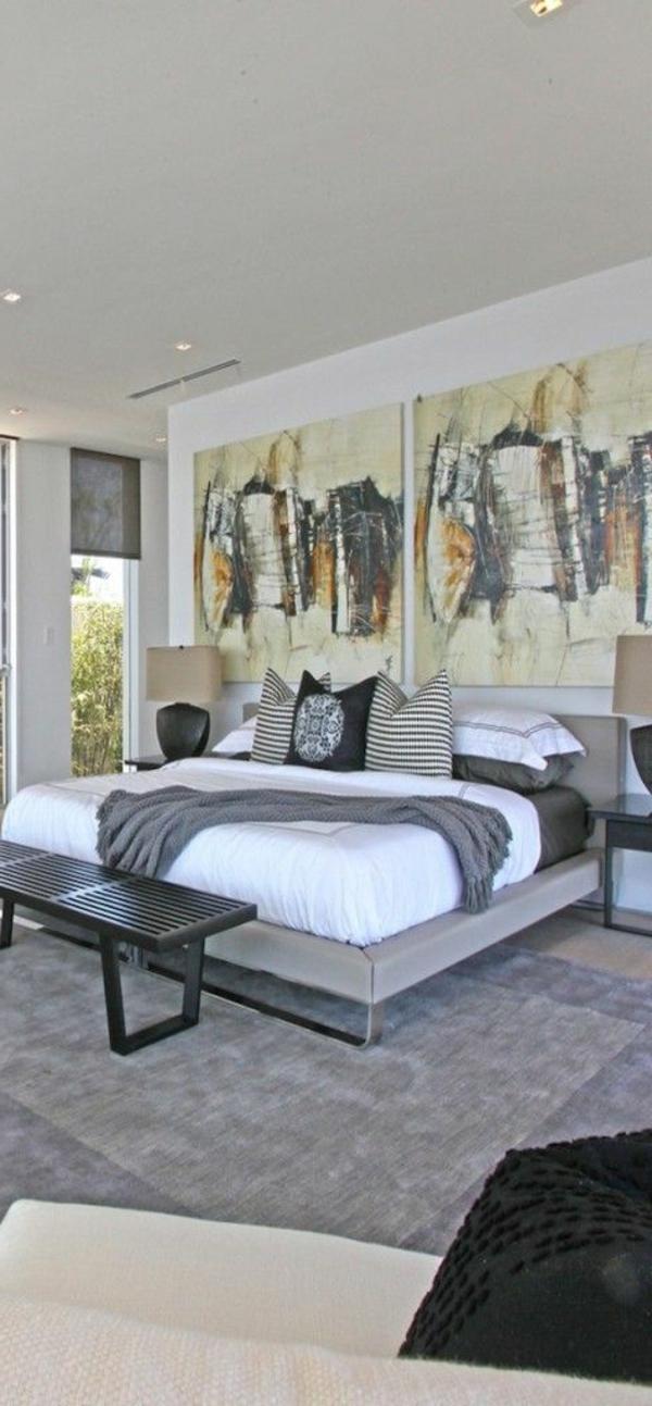 schlafzimmer-modern-gestalten-kreative-wand-gestaltung