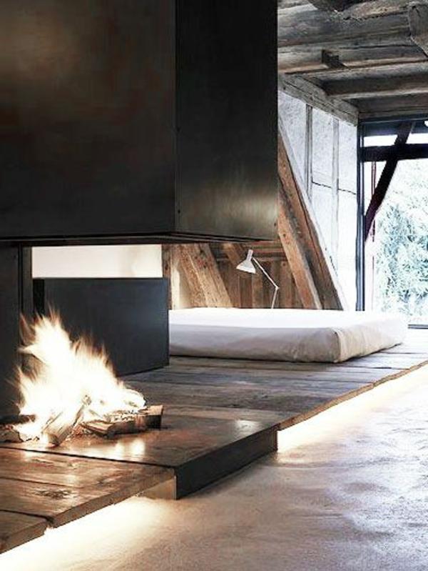 schlafzimmer-modern-gestalten-mit-einem-kamin
