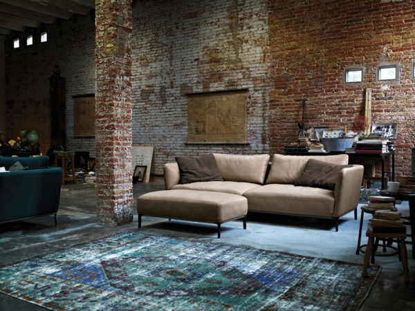 Wohnzimmer rustikal gestalten teil 1 - Grose wohnzimmer wandgestaltung ...
