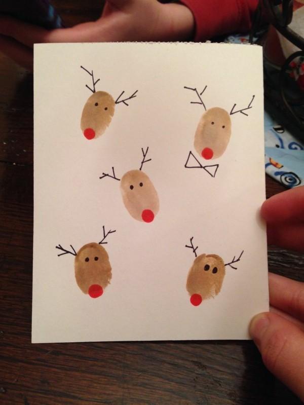 selbstgebastelte-weihnachtskarten-interessante-diy-gestaltung