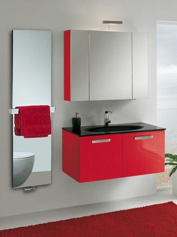 spiegel-radiator-Heizköroper-Bad-rote-elemente
