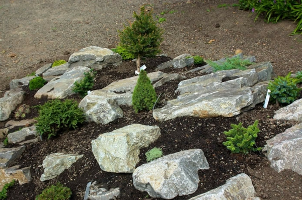 100 Unglaubliche Bilder: Moderner Steingarten