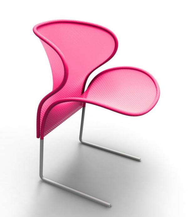 stilvoller-und-eleganter-designer-Stuhl-für-die-Wohnung-in-Rosa