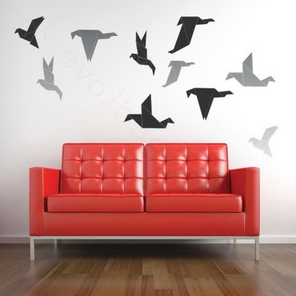 100 beispiele f r eine tolle wandgestaltung. Black Bedroom Furniture Sets. Home Design Ideas