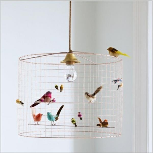super-interessante-lampen-für-kinderzimmer-vogelkäfig