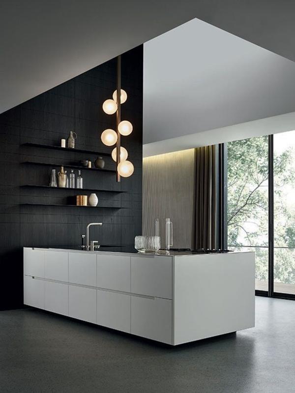 super-moderne-Küche-mit-fantastischem-Design moderne Küchenplanung
