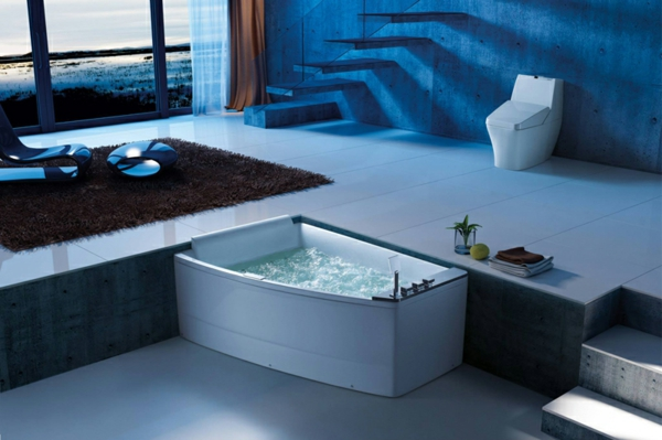 130 fantastische whirlpools f r innen. Black Bedroom Furniture Sets. Home Design Ideas