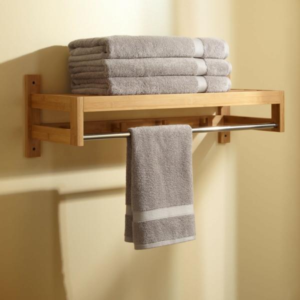 super-moderner-Handtuch.halter-für-das-Badezimmer-aus-Bambus