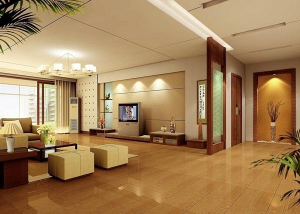 super-schöne-Eierschalenfarben-für-ein-modernes-Wohnzimmer-.
