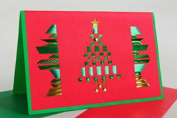 super-schöne-weihnachtsgeschenke-selber-basteln-weihnachtskarten