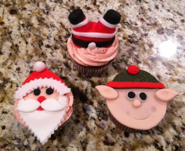 super-tolle-Ideen-für-Weihnachtscupcakes